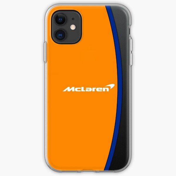 Simple McLaren F1 Design 2020 iPhone Soft Case