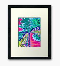 Digital Arcade Framed Print