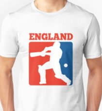 cricket player batsman batting England Unisex T-Shirt