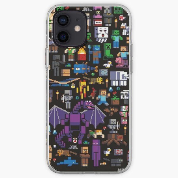 Minecraft Mob iPhone Case iPhone Soft Case
