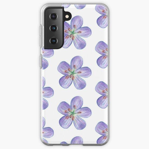 Purple Phlox Samsung Galaxy Soft Case