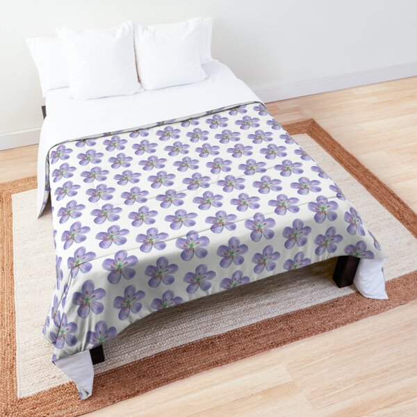 Purple Phlox Comforter