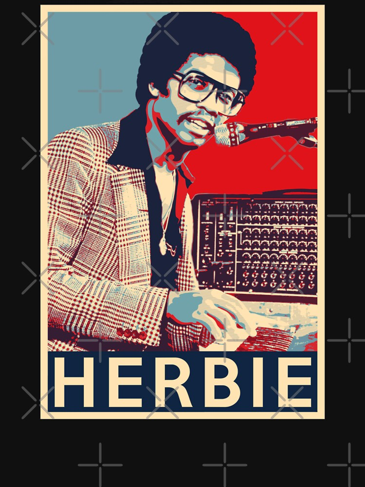 Herbie Hancock Hope Poster - Sizes of Jazz Musician History by Quentin1984