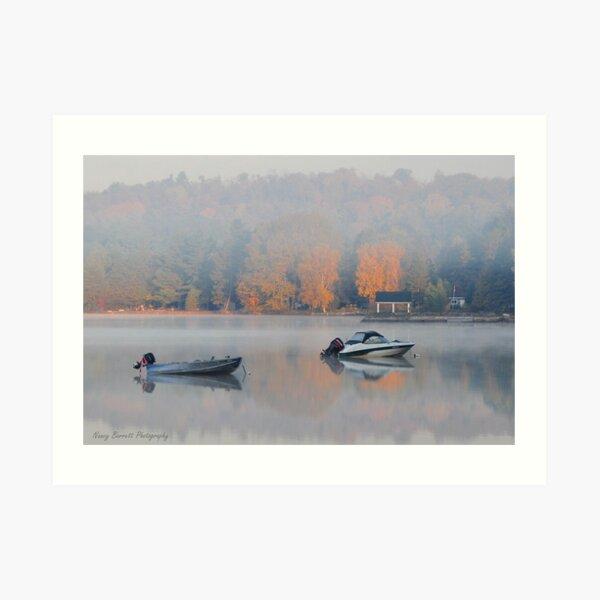 Lake of Bays Dawn Art Print