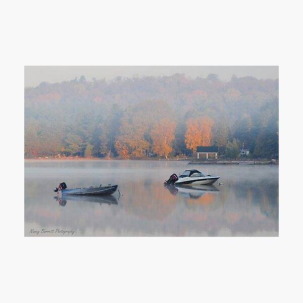Lake of Bays Dawn Photographic Print