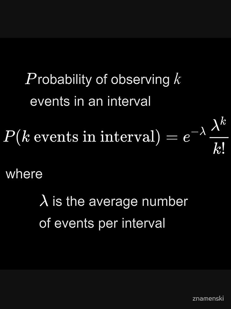 Poisson distribution #Poisson #distribution #PoissonDistribution by znamenski