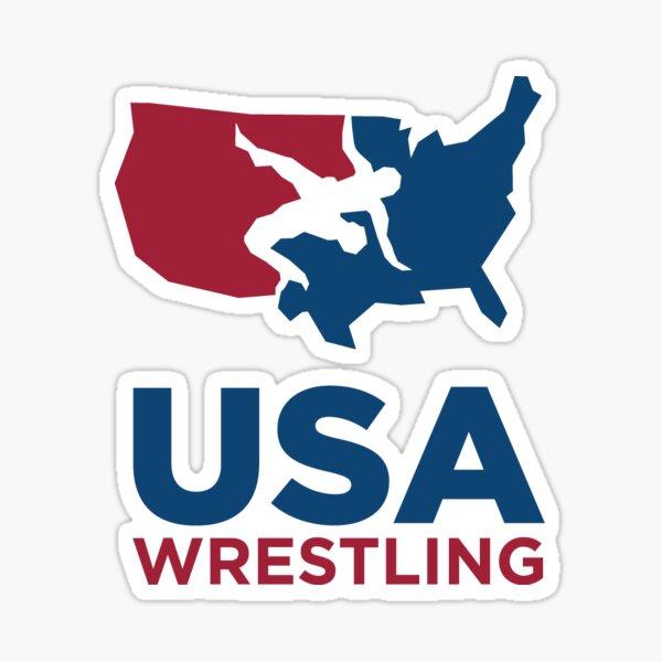 USA Wrestling  Sticker