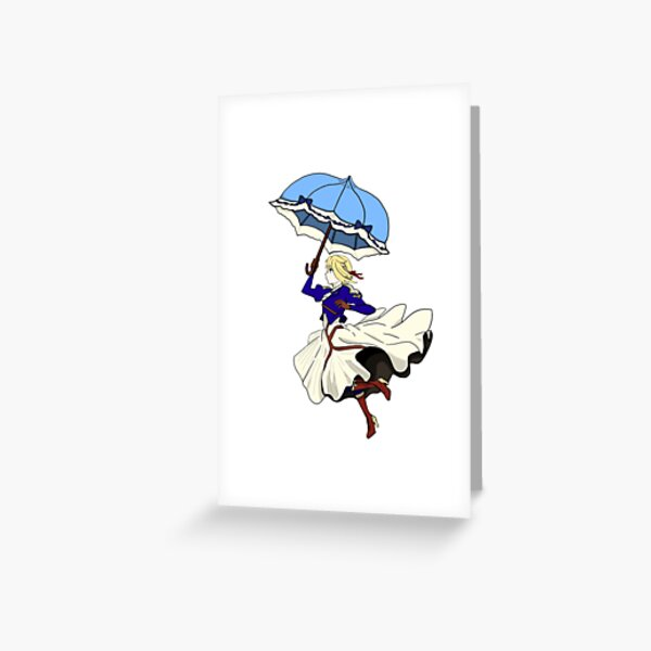 The Parasol Greeting Card