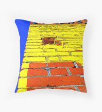 """Vertical Car Yard"" Throw Pillow"