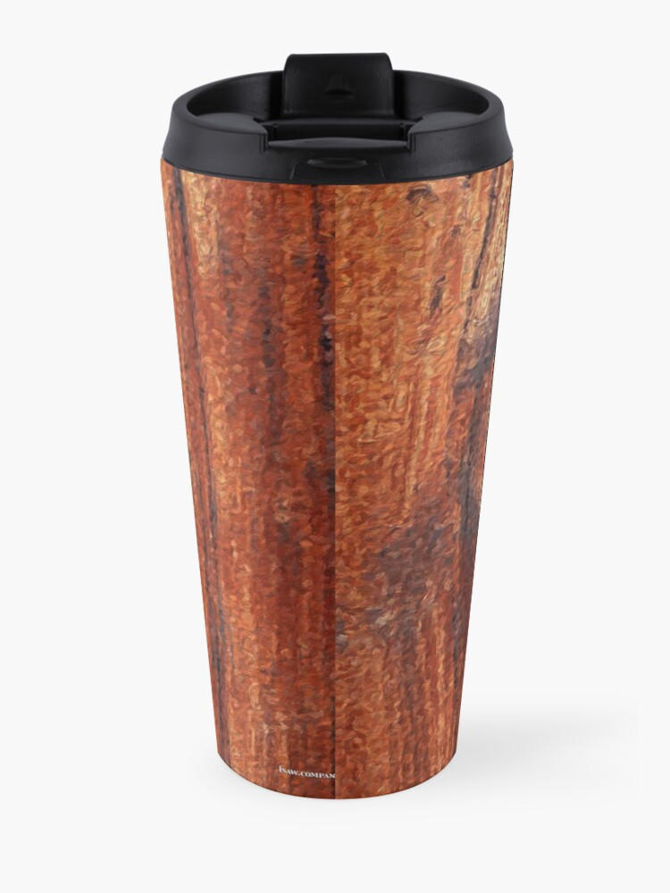 Alternate view of Wood Knot Travel Mug