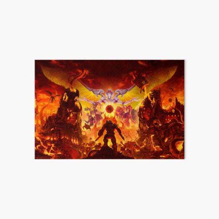 doom eternal Art Board Print