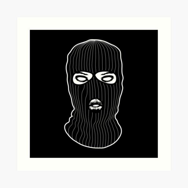 Balaclava IRA Black Acrylic