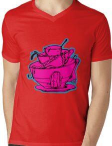 Tea cup Mens V-Neck T-Shirt