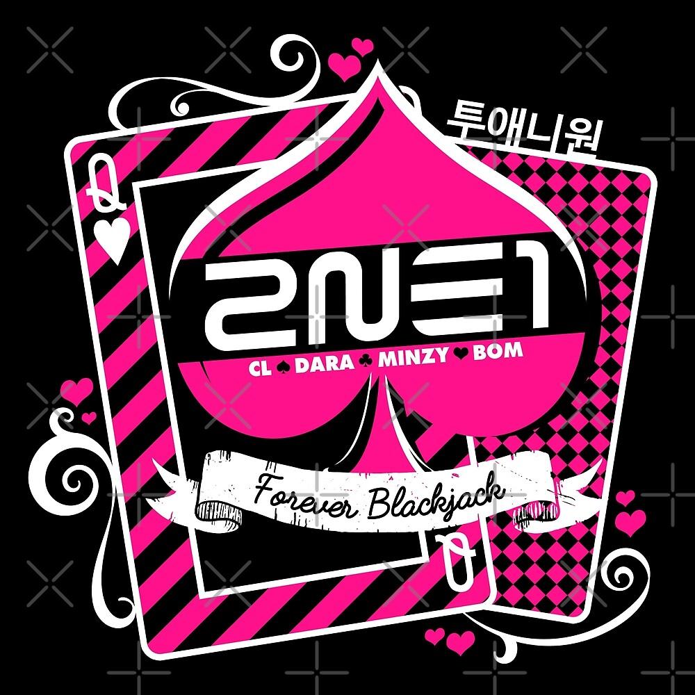 2NE1 Forever Blackjack by skeletonvenus