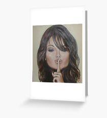 Womens secrets - SSHHHH Greeting Card