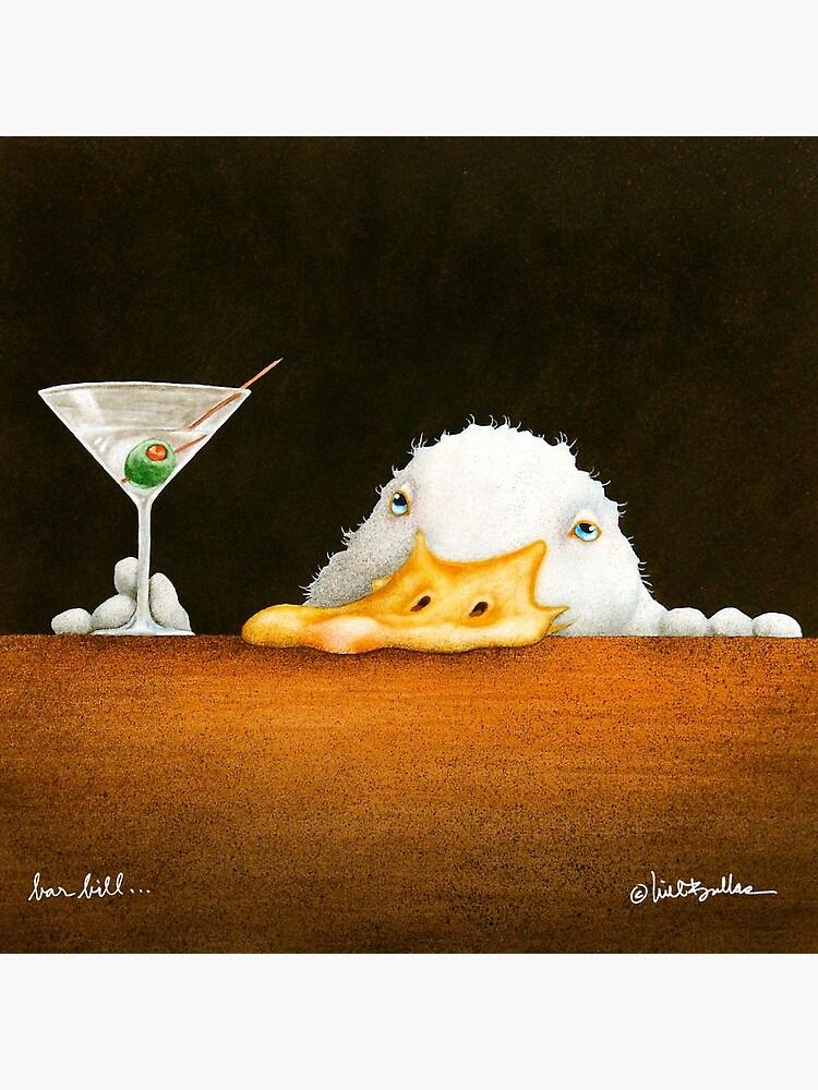 Will Bullas / art print / bar bill / duck by willbullas
