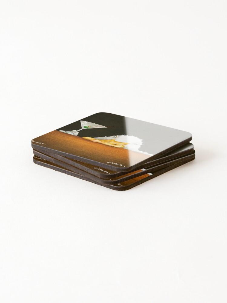 Alternate view of Will Bullas / art print / bar bill / duck Coasters (Set of 4)