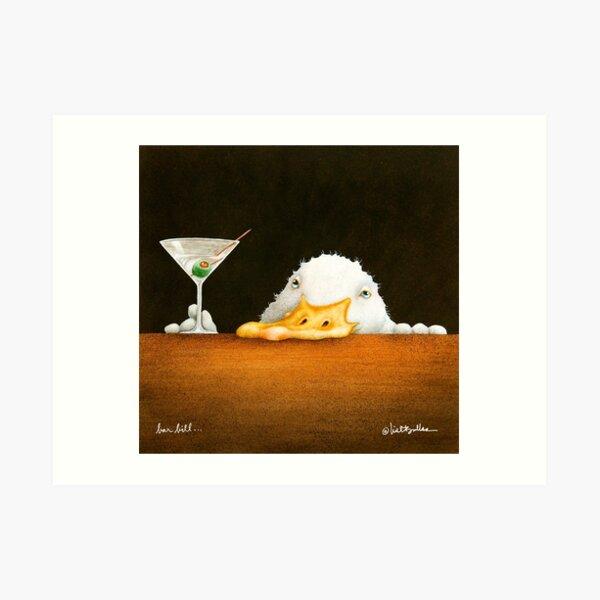 Will Bullas / art print / bar bill / duck Art Print