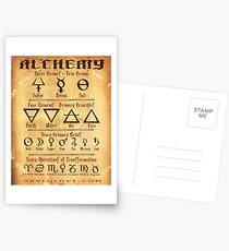 Alchemy Symbols Postcards