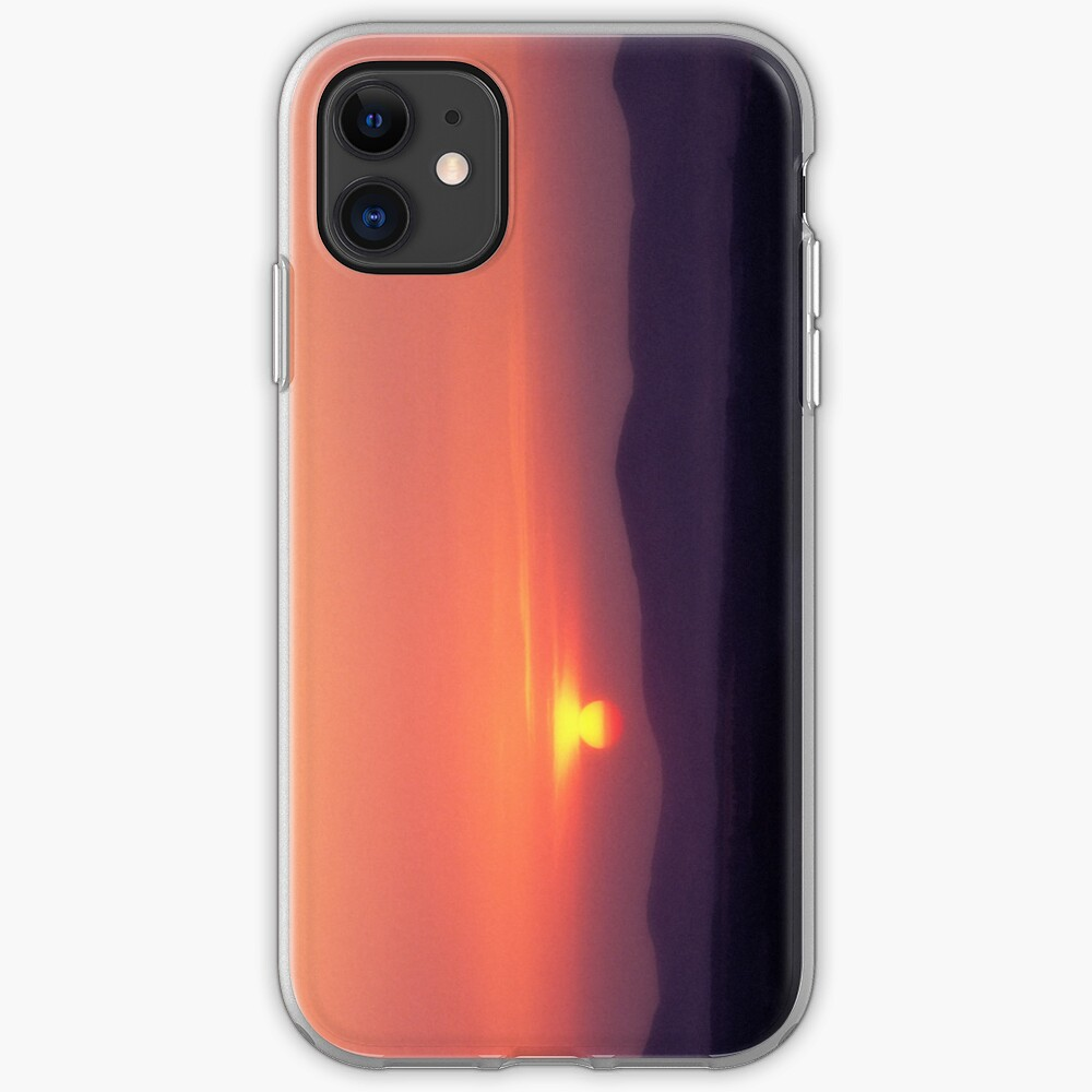Moorfoot sunset iPhone Case & Cover