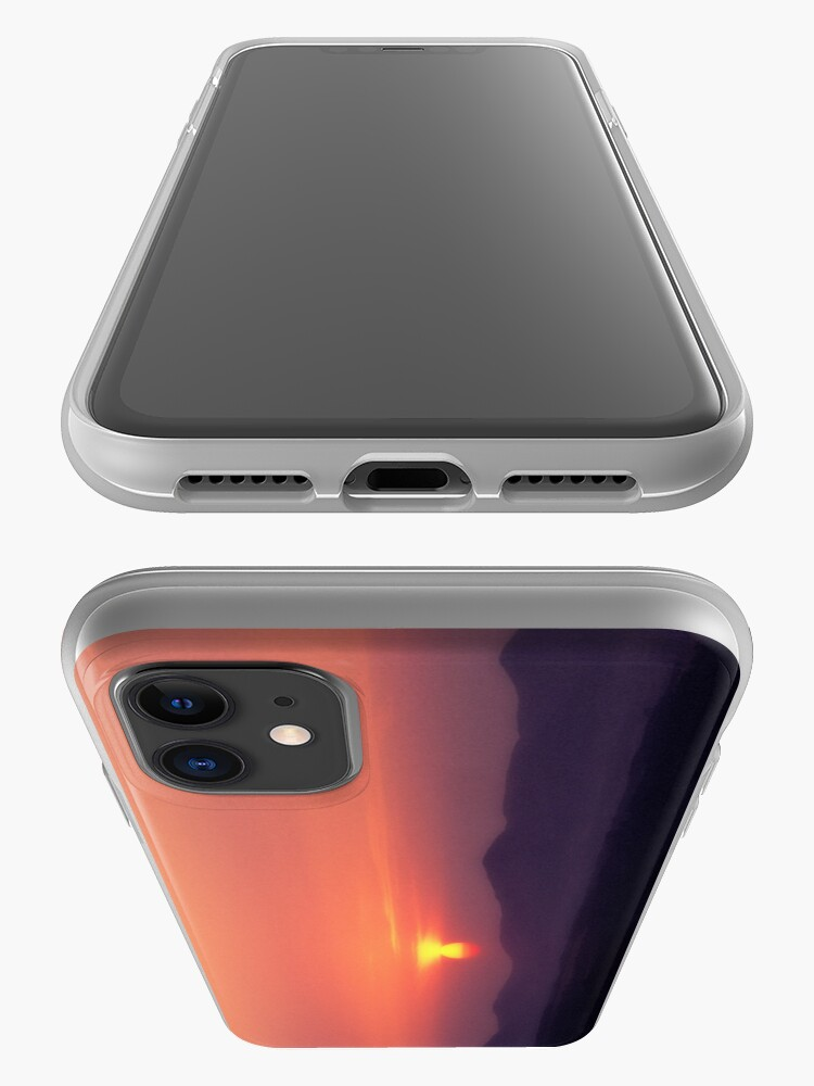 Alternate view of Moorfoot sunset iPhone Case & Cover