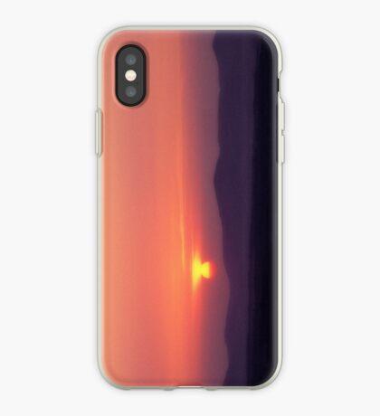 Moorfoot sunset iPhone Case