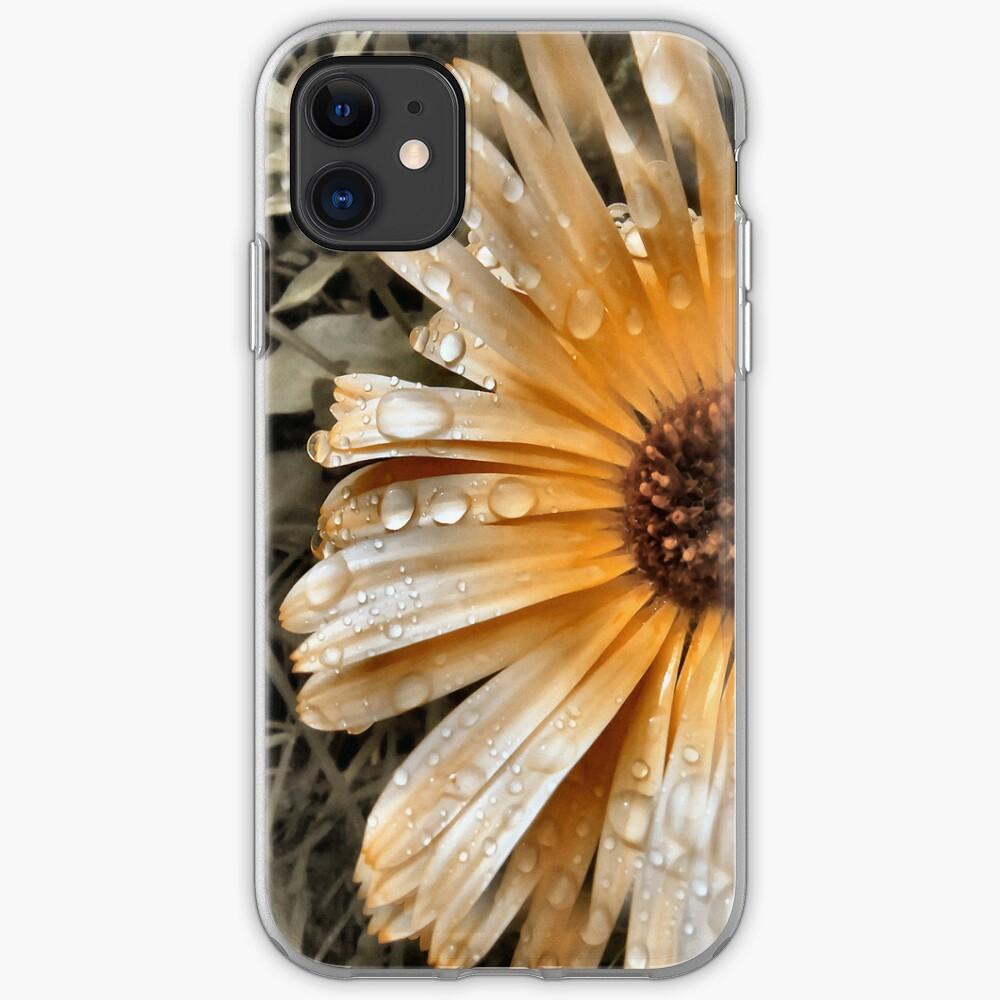 Raindrop Calendula iPhone Case & Cover
