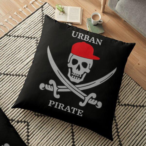 Urban Pirate  Floor Pillow
