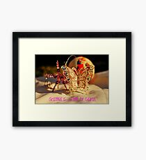 Christmas is......a time for children Framed Print