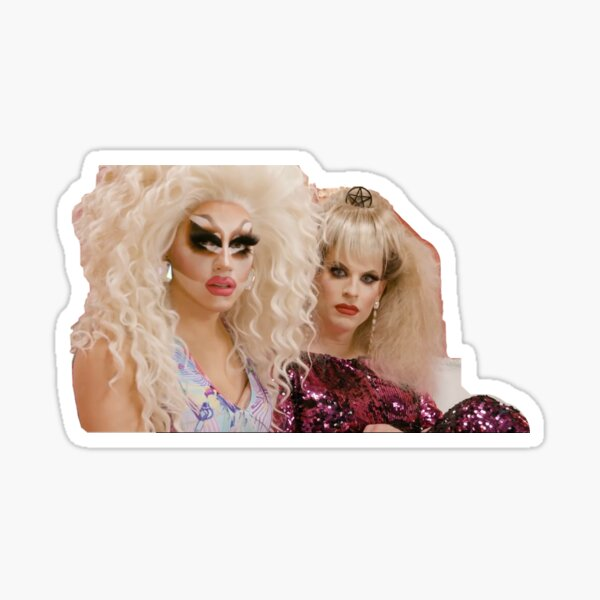 trixie and katya Sticker