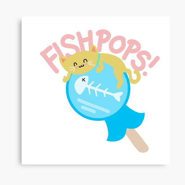 Fishpops! Canvas Print