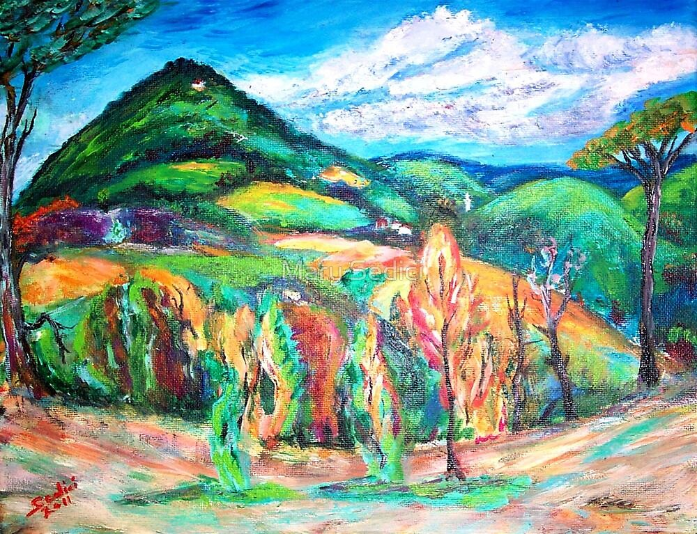 Colorful Europe  by Mary Sedici