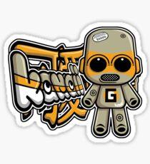 Gadget Mascot Tag Sticker