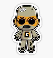 Gadget Mascot Sticker