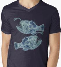 Devilfish  Men's V-Neck T-Shirt