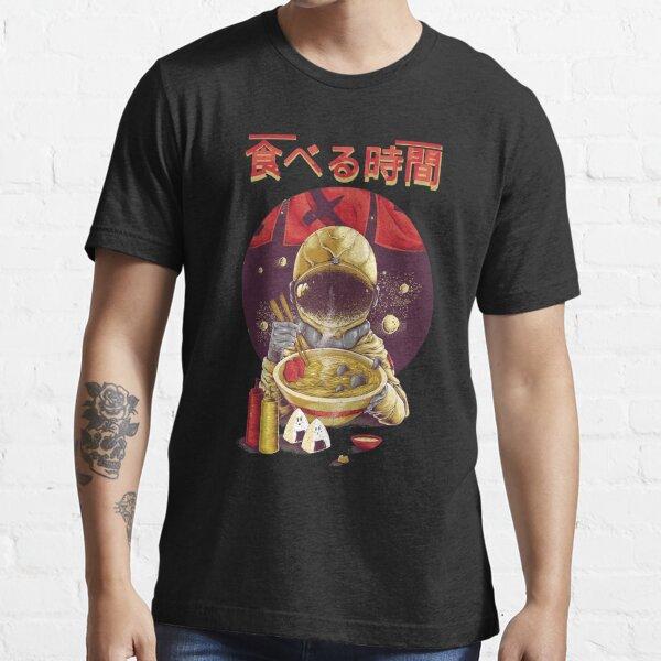 Ramen Astronaut Vintage Kawaii Otaku Japanese Noodles Essential T-Shirt
