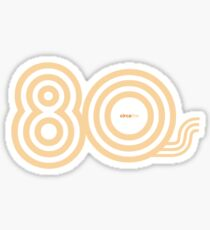 Born in the 80's Sticker