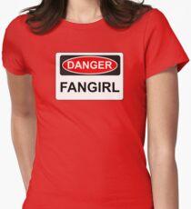 Danger Fangirl - Warning Sign T-Shirt
