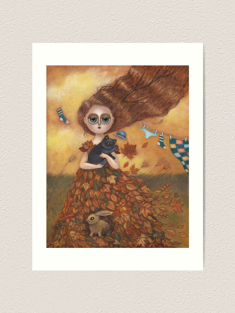 Alternate view of Windy Day  Art Print