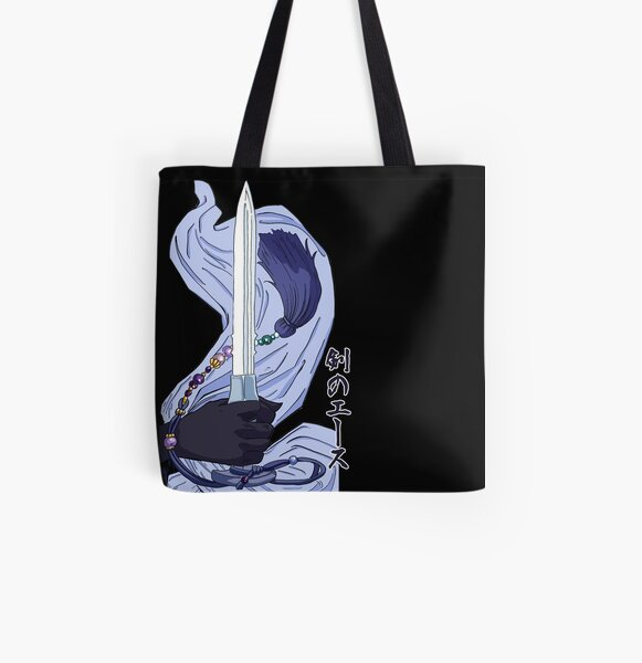 Swords Ace All Over Print Tote Bag