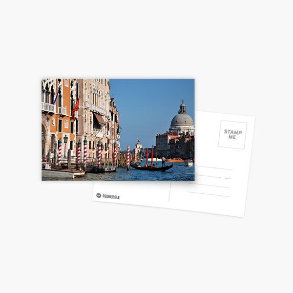 Colors of Venice Postcard