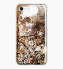 Skull and Flowers 4 iPhone Case/Skin