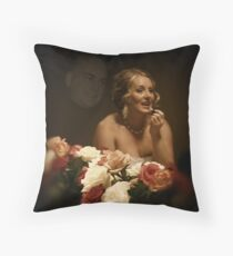 Dreams of her Groom (MUST VIEW LARGE) Throw Pillow
