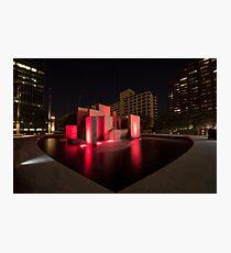 HartFord Fountains Photographic Print