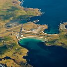 Sumburgh Airport from 10,000ft by Terry Mooney
