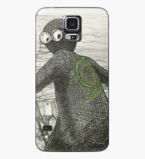 Pen and Ink based off of character 9 Case/Skin for Samsung Galaxy