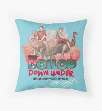 The Dollop - Down Under  (Australia variant) Throw Pillow