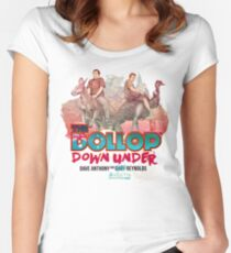 The Dollop - Down Under  (Australia variant) Women's Fitted Scoop T-Shirt