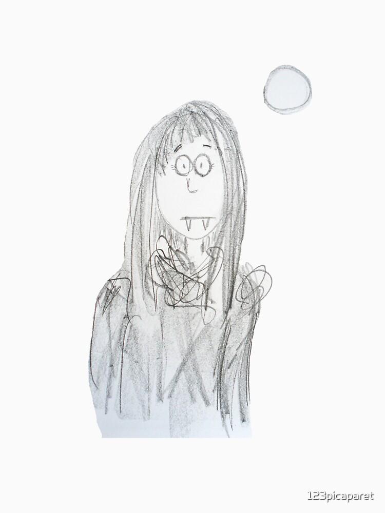 Vampire girl by 123picaparet