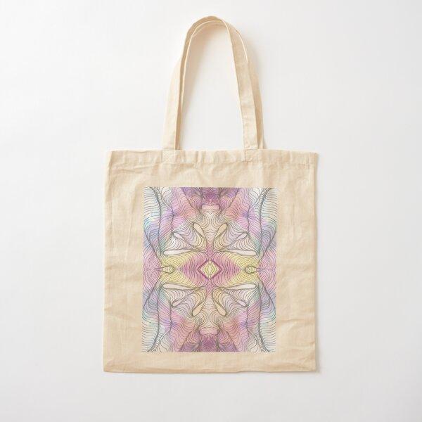 Flower Cotton Tote Bag